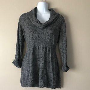 Gray Maternity Sweater